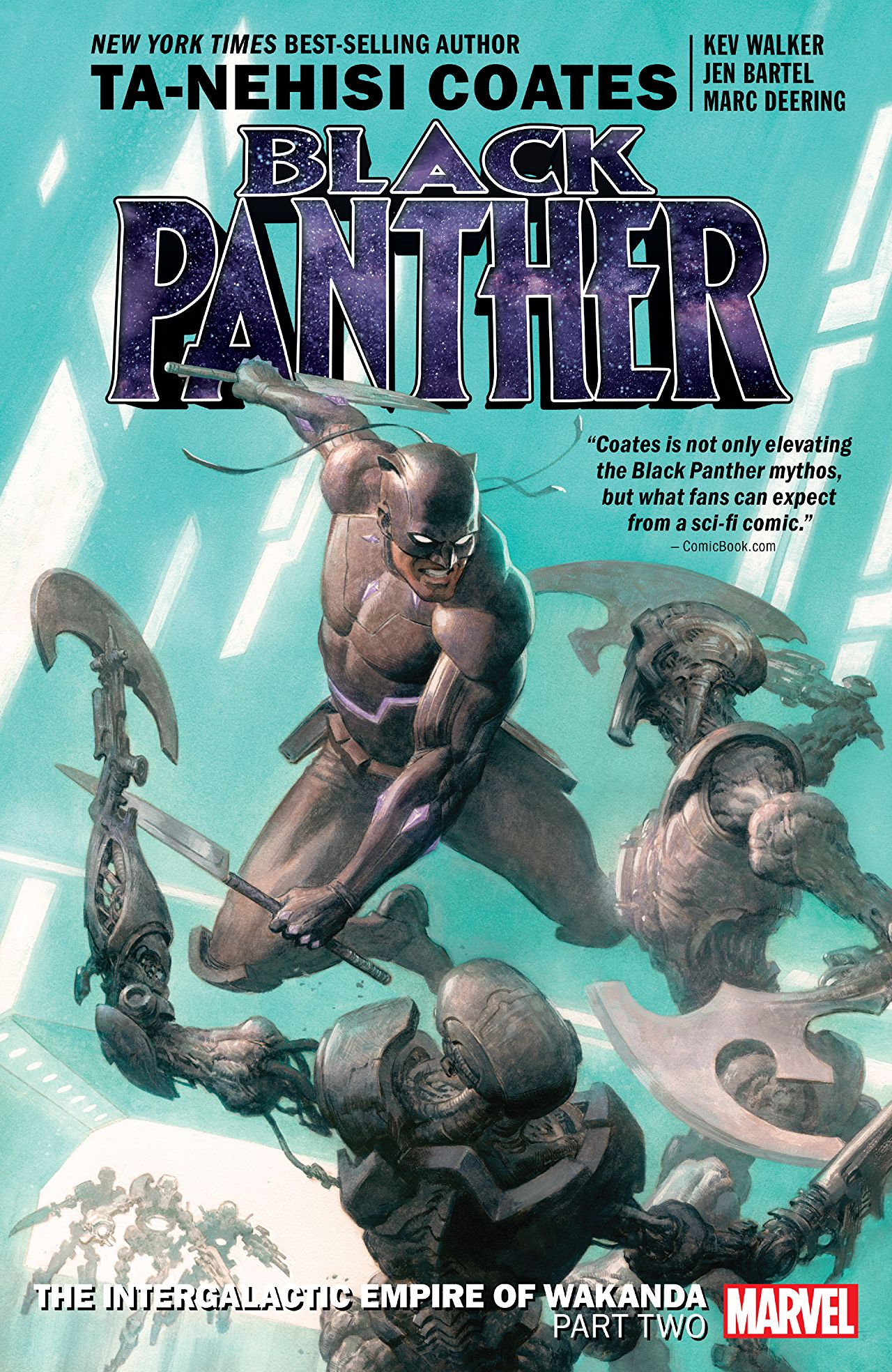 'Black Panther Book 7: The Intergalactic Empire of Wakanda Part Two TPB' review