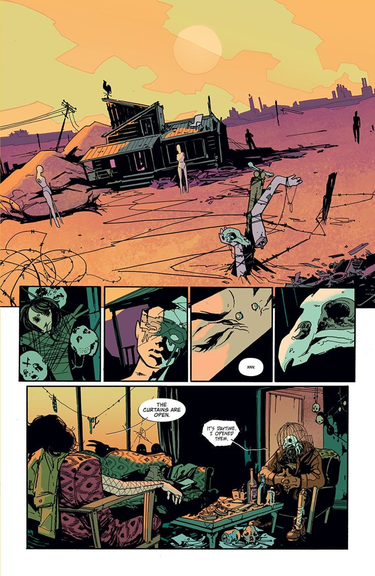 Coffin Bound #1 review: a surreal start