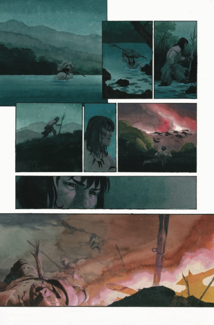 Marvel Preview: Conan the Barbarian: Exodus #1