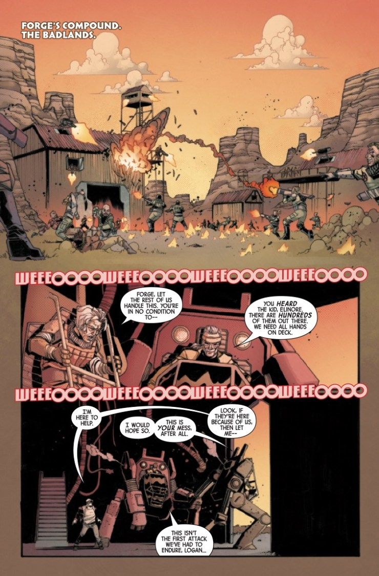 Marvel Preview: Dead Man Logan #10