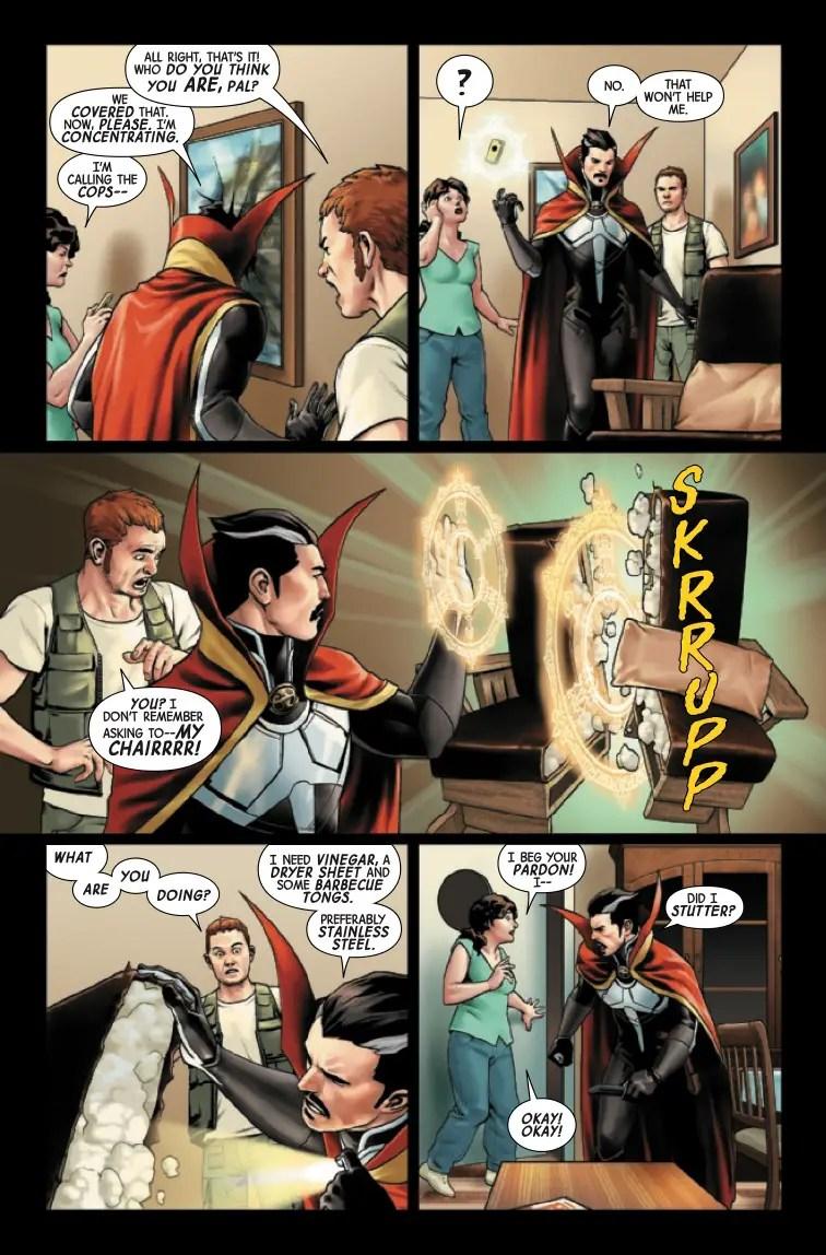 Doctor Strange #18 Review