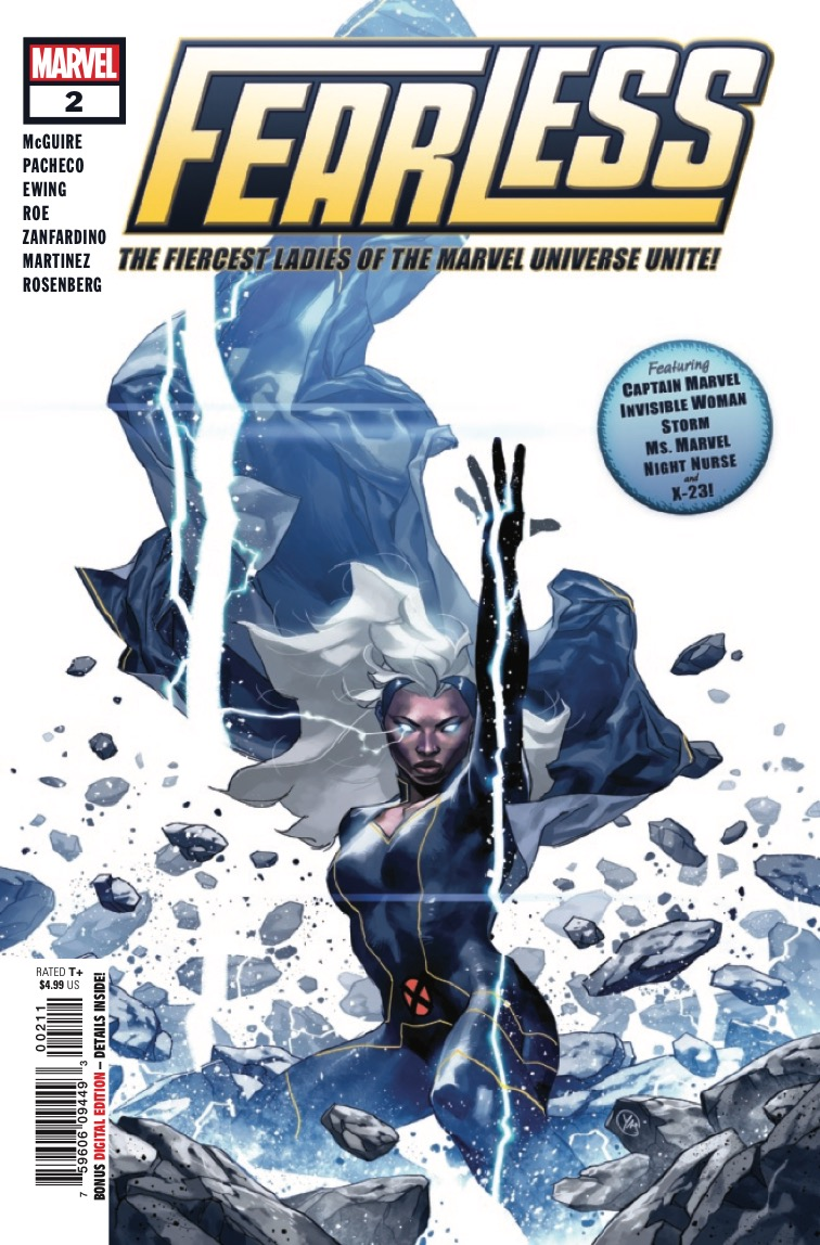 Fearless #2 Review