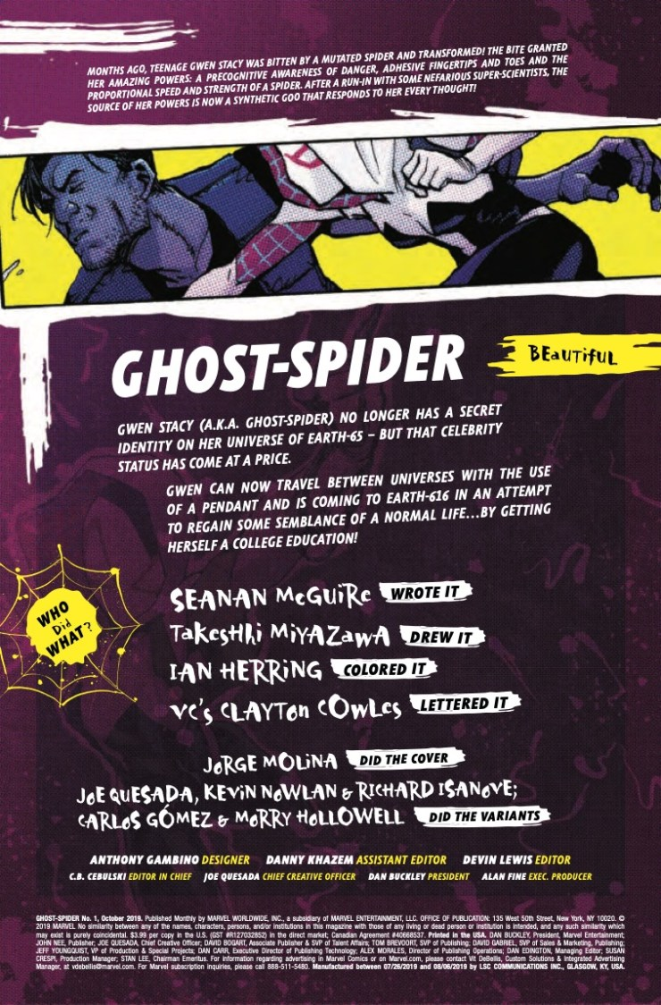 Marvel Preview: Ghost-Spider #1