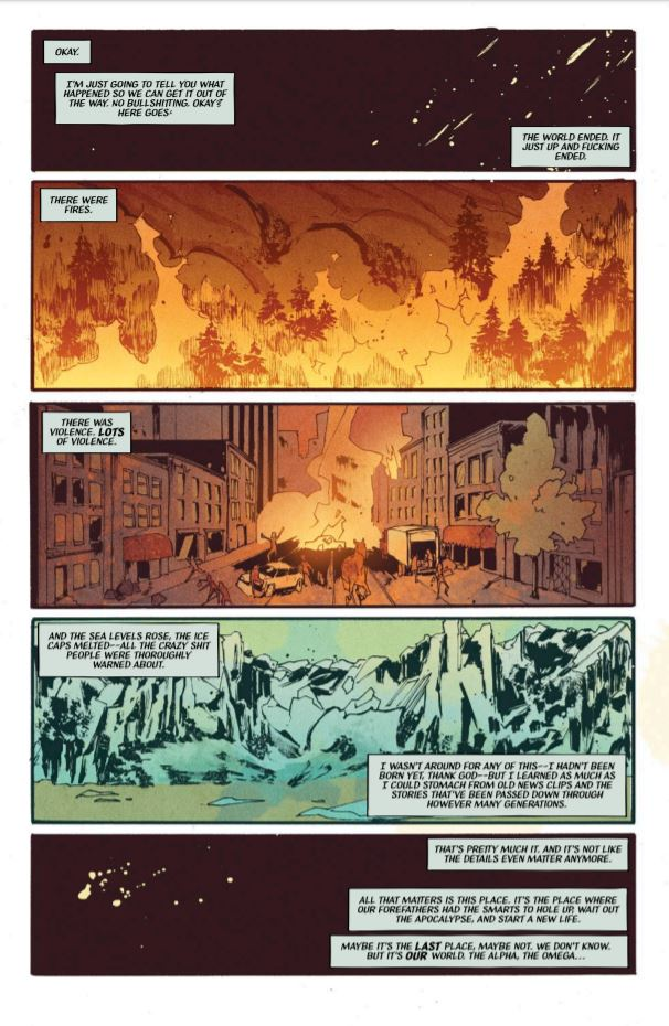Mall #1 review: the commercialized apocalypse