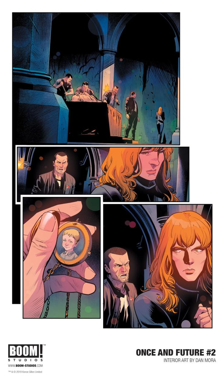 First Look: Kieron Gillen and  Dan Mora's 'Once and Future' #2