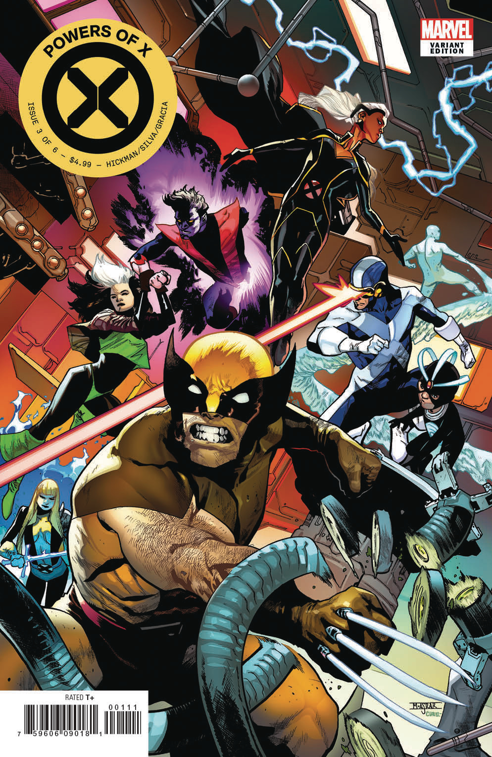 Powers of X #3 Review