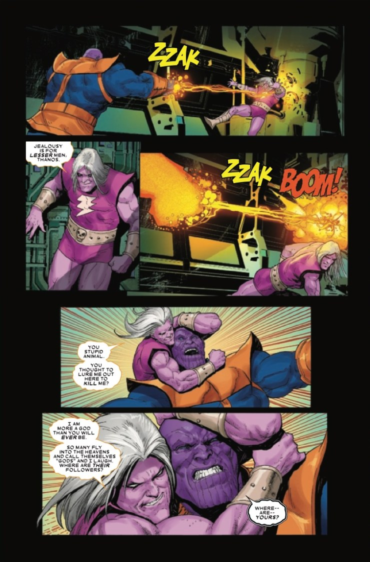 Marvel Preview: Thanos #5