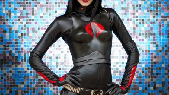 G.I. Joe: Baroness cosplay by Katy DeCobray