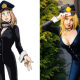 The flirtatious, cat-suited second year student at Shiketsu High School training to become a Pro Hero, Camie Utsushimi, comes to life.