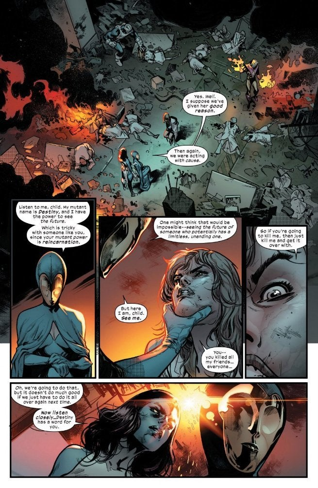 House of X:  How would reincarnation work? Would we know it when we saw it?