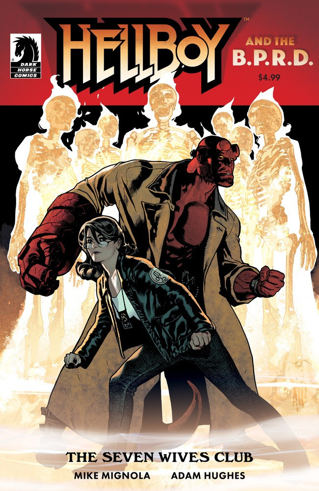 Mike Mignola and Adam Hughes headlining 'Hellboy & the B.P.R.D.: The Seven Wives Club' this December