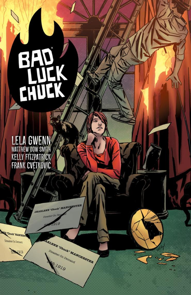EXCLUSIVE Dark Horse Preview: Bad LucK Chuck TPB
