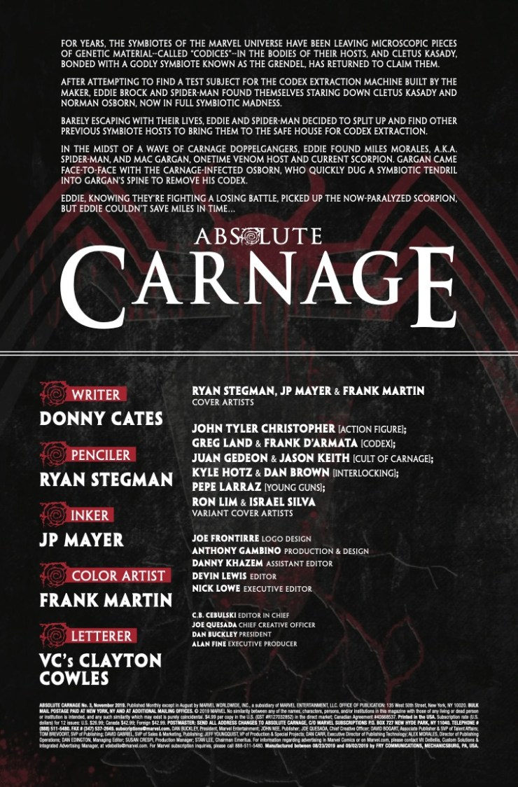 Marvel Preview: Absolute Carnage #3