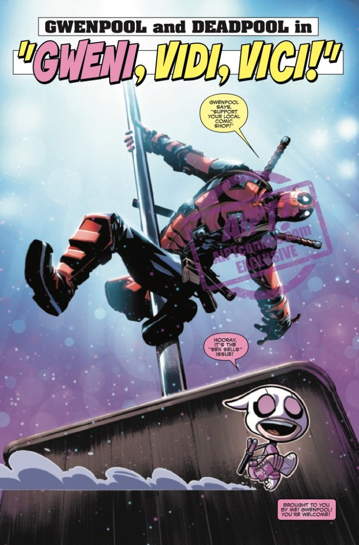 EXCLUSIVE Marvel Preview: Gwenpool Strikes Back! #2