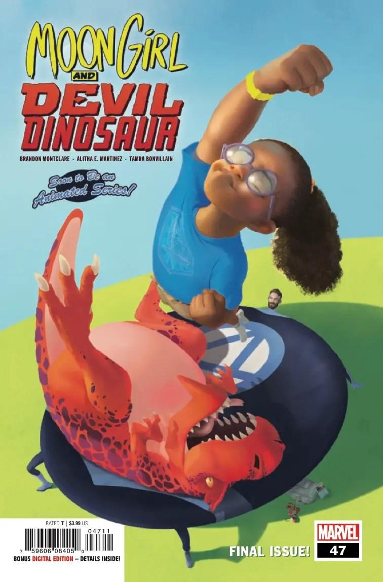 Moon Girl and Devil Dinosaur Vol. 8: Yancy Street Legends Review