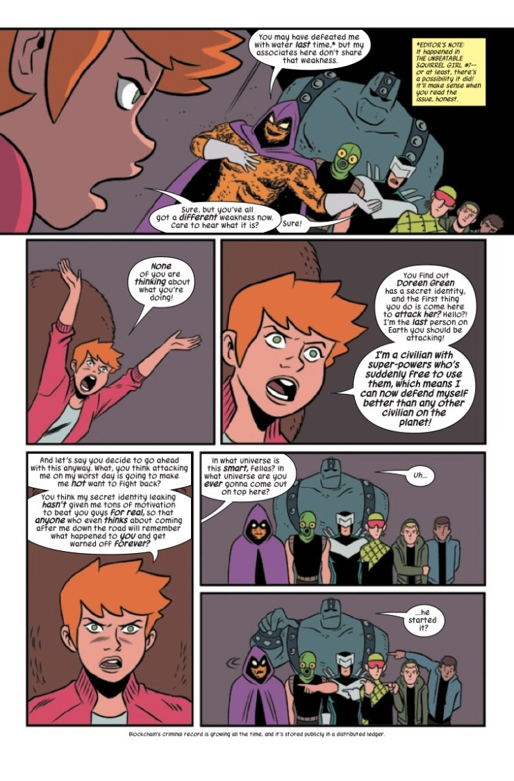 Marvel Preview: The Unbeatable Squirrel Girl #48