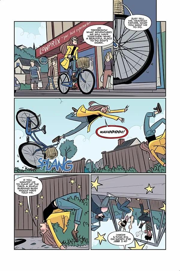 EXCLUSIVE Dark Horse Preview: Steeple #2