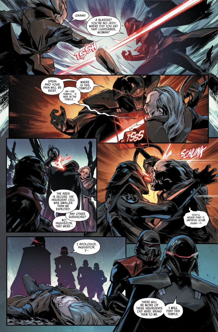 Marvel Preview: Star Wars: Jedi Fallen Order – Dark Temple #2
