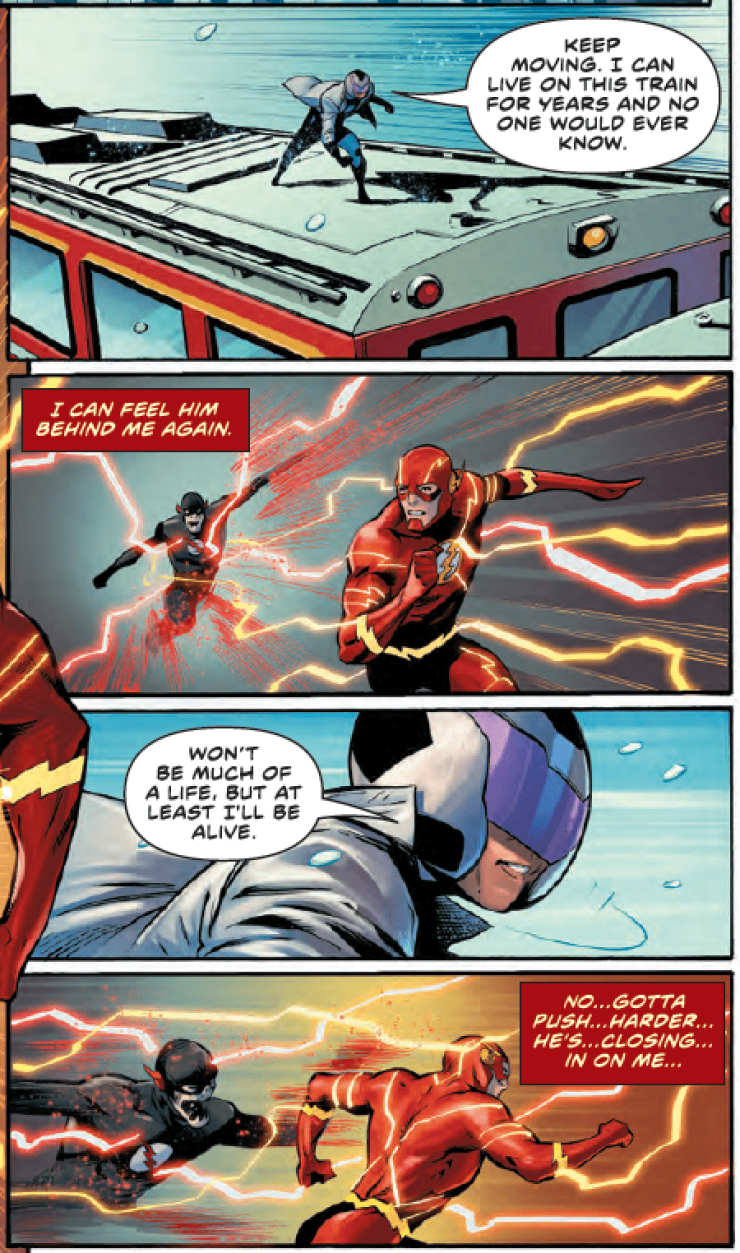 A new Flash ally is changed forever in The Flash #78