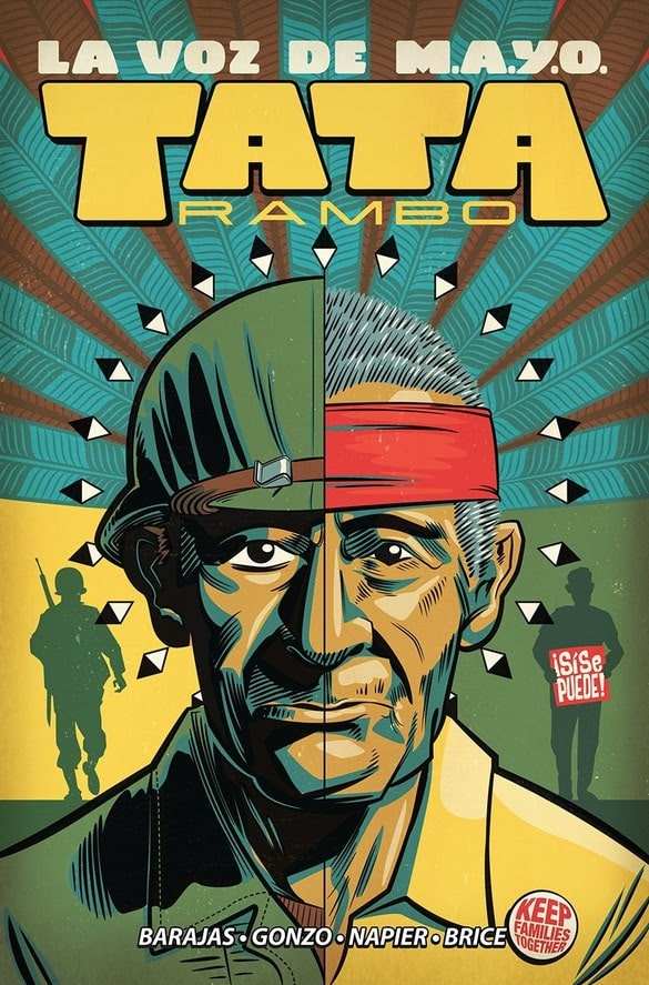 Image announces original graphic novel, La Voz de M.A.Y.O.: Tata Rambo, arrives this November