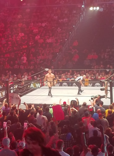 AEW Dynamite review from section 112