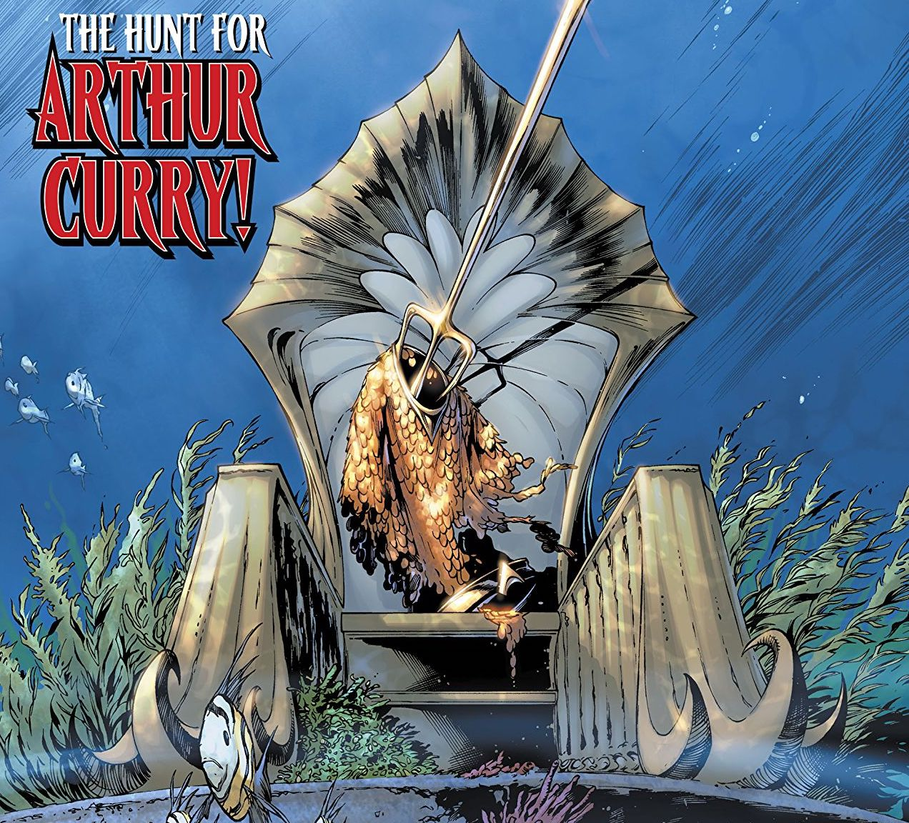 Aquaman #53 review: History