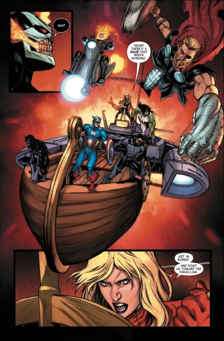 Marvel Preview: Avengers #25