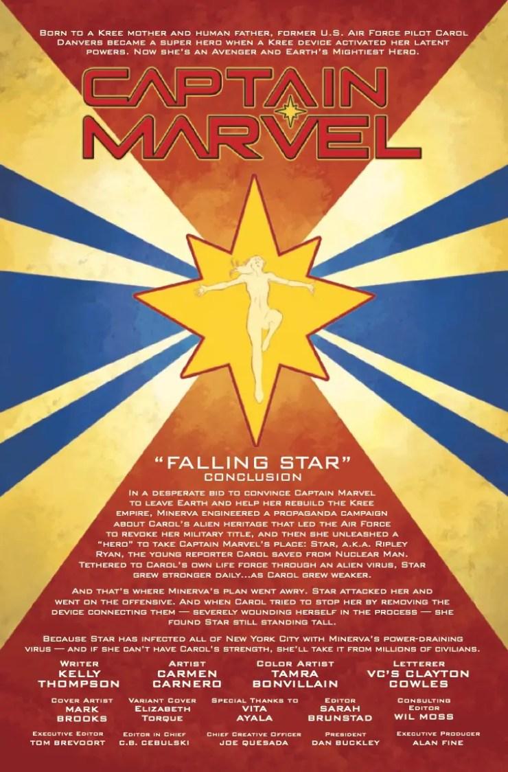 Marvel Preview: Captain Marvel #11