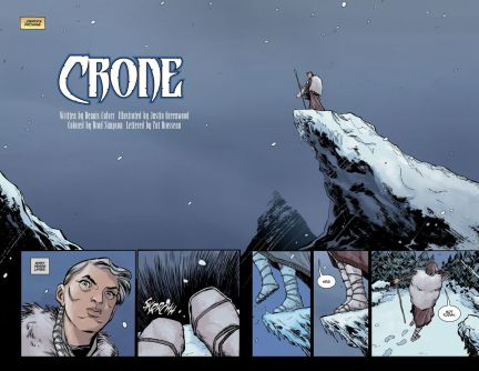 'Crone' #1 review: Epic fantasy with a bloody, beating heart
