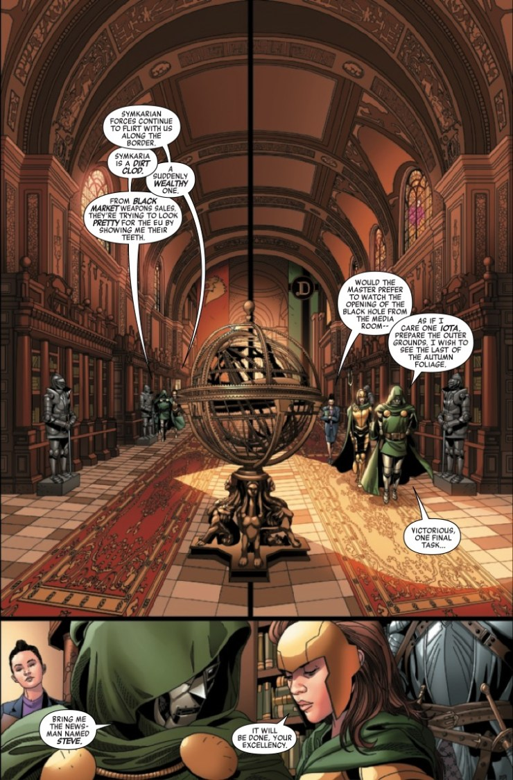 Marvel Preview: Doctor Doom #1