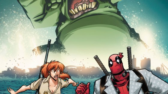 "Deadpool #1 teaser delivers postcard to ""See you soon on Monster Island"""