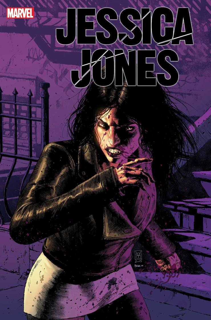 Jessica Jones #1 coming this January from Kelly Thompson and Mattia De Iulis