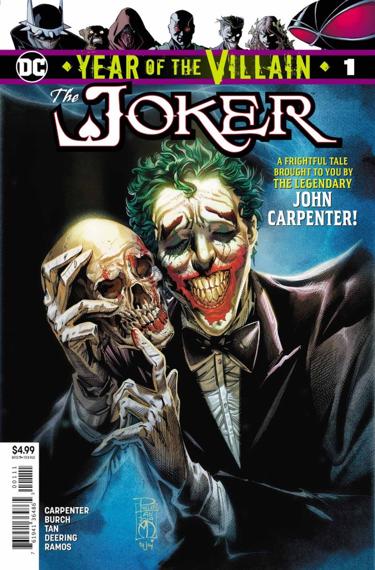 DC Preview: Joker: Year of the Villain #1