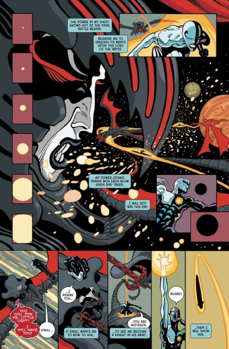 Marvel Preview: Silver Surfer: Black #5