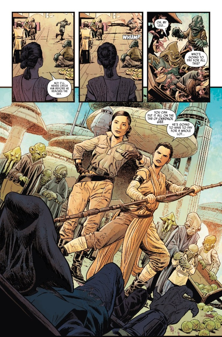 Marvel Preview: Journey To Star Wars: The Rise Of Skywalker - Allegiance #4