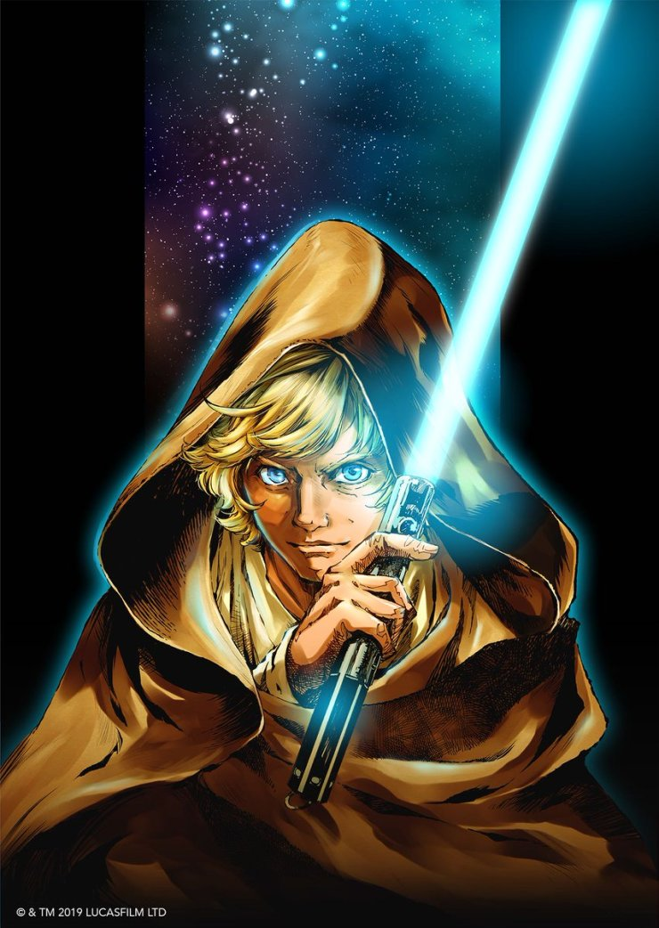 Star Wars and manga combine from Viz Media with 'Star Wars: The Legends of Luke Skywalker'