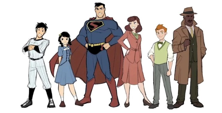 A historic story comes to life in this graphic adaptation of Superman taking on the KKK.