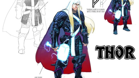 """In all my wildest dreams, I could never have imagined a world in which I was worthy of writing THOR,"" says Donny Cates."