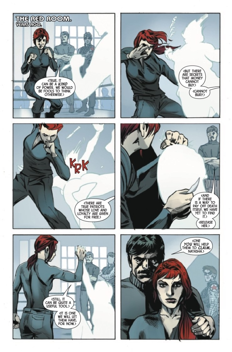 Marvel Preview: Web Of Black Widow #2