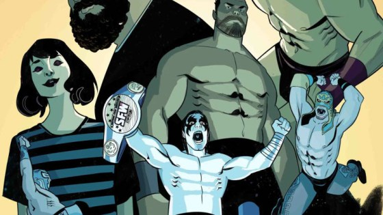 'Over the Ropes' writer Jay Sandlin joins us to talk his new book, AEW and wrestling's relationship to comics.