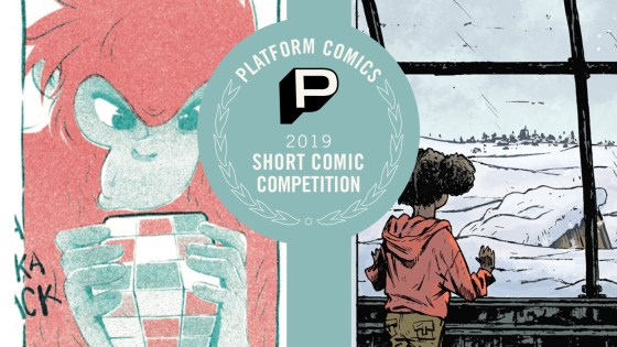 Platform Comics 2019 Short Comic Competition winner and runner-up reviews