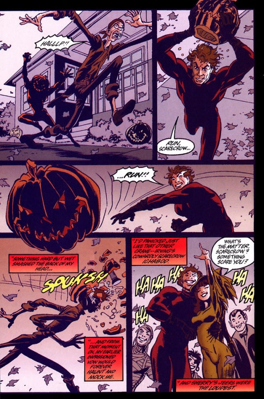 How to win friends? The psychology of DC Comics' Scarecrow