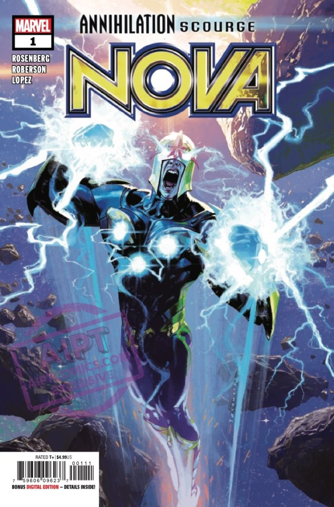 EXCLUSIVE Marvel Preview: Annihilation: Scourge - Nova #1