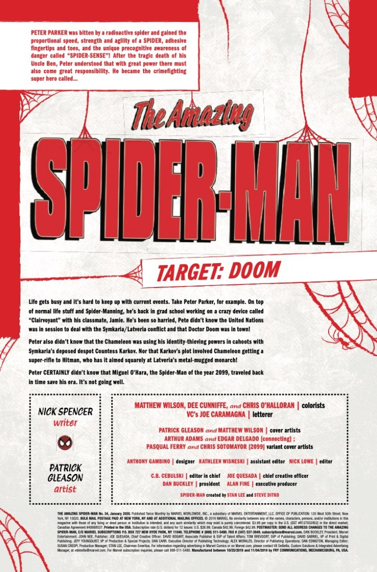 Marvel Preview: Amazing Spider-Man #34