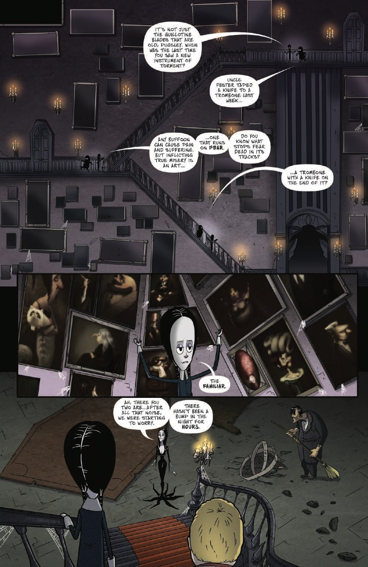 IDW Preview: The Addams Family: The Bodies