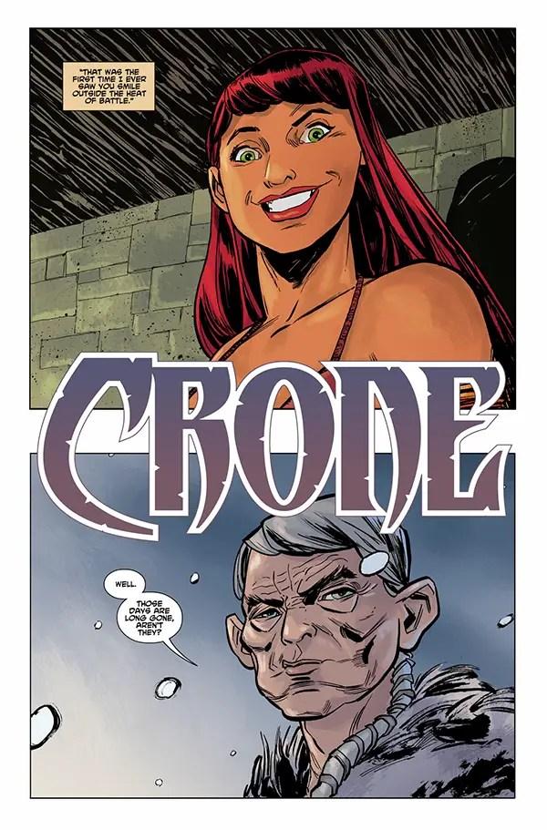 EXCLUSIVE Dark Horse Preview: Crone #2