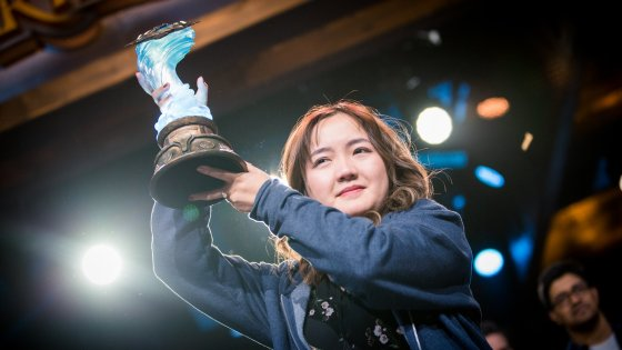 Xiaomeng 'VKLiooon' Li makes history at BlizzCon 2019.