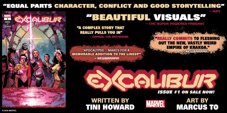 The reviews are in and Excalibur #1 is blowing critics away