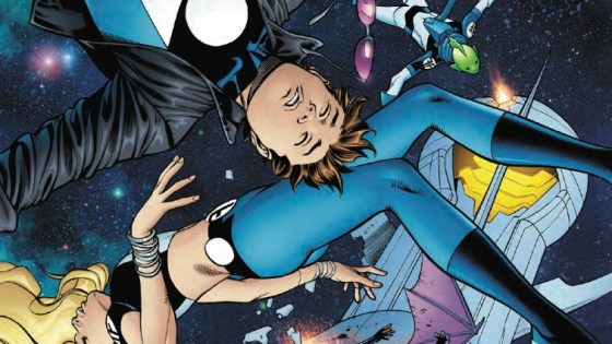 The Future Foundation's fight to save Molecule Man comes to a head!