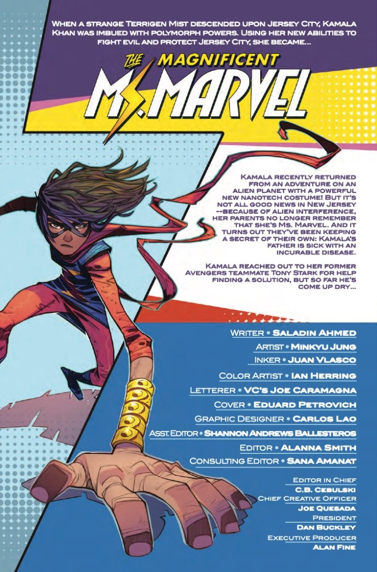 Marvel Preview: Magnificent Ms. Marvel #9